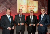 """""""Best of European Business""""-Award 2011"""