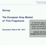 Study: The European Gray Market of Fine Fragrances